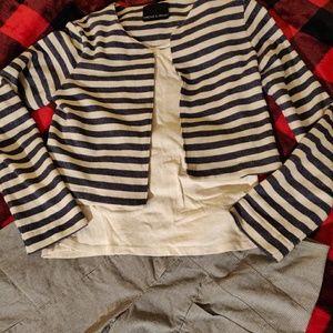 Harlowe & Graham Sweaters - Cropped sweater